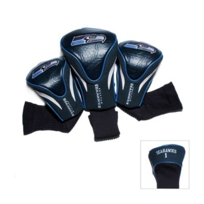 Seattle Seahawks 3-Pack Contour Golf Club Headcover