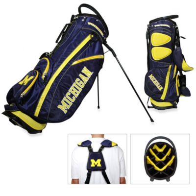 University of Michigan Fairway Stand Golf Bag