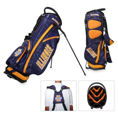 University of Illinois Fairway Stand Golf Bag