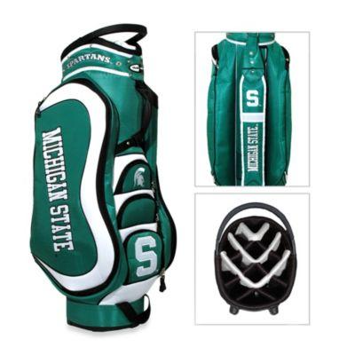 Green White Cart Bag