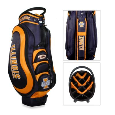 University of Illinois Medalist Golf Cart Bag