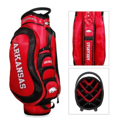 University of Arkansas Medalist Golf Cart Bag