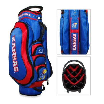 NCAA University of Kansas Medalist Cart Golf Bag