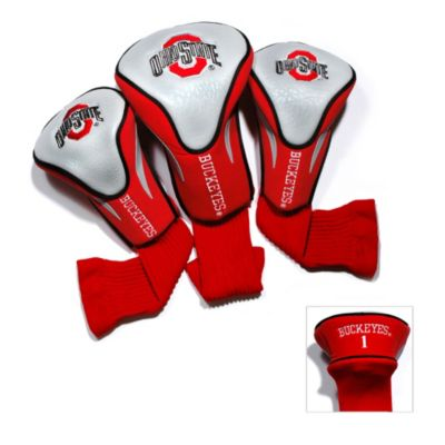 Ohio State University 3-Pack Contour Headcovers