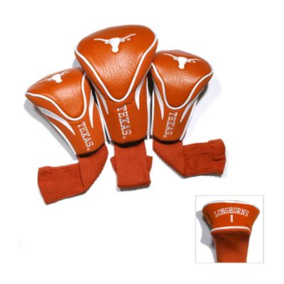 University of Texas 3-Pack Contour Golf Club Headcovers