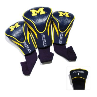 University of Michigan 3-Pack Contour Headcover
