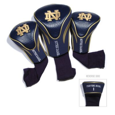 University of Notre Dame 3-Pack Contour Golf Club Headcovers