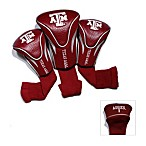 Texas A&M University 3-Pack Contour Golf Club Headcovers