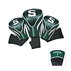 Michigan State University 3-Pack Contour Golf Club Headcovers