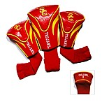 University of Southern California 3-Pack Contour Golf Club Headcovers