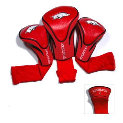 University of Arkansas 3-Pack Contour Golf Club Headcovers
