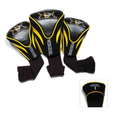 University of Missouri 3-Pack Contour Golf Club Headcovers
