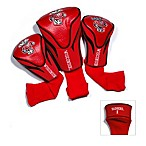 University of Wisconsin 3-Pack Contour Golf Club Headcovers