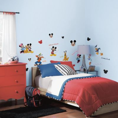 RoomMates Mickey & Friends Peel & Stick Wall Decals
