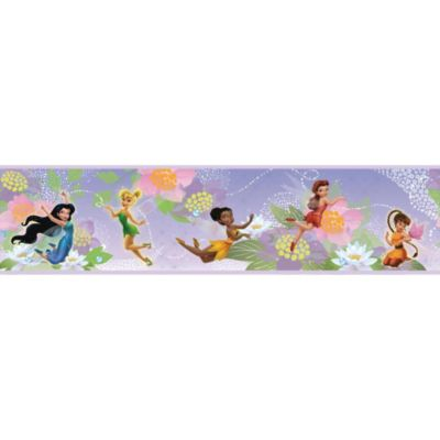 RoomMates Disney® Fairies Peel & Stick Wall Border