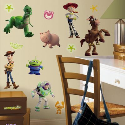 RoomMates Disney® Pixar Toy Story 3 Glow in the Dark Wall Decals