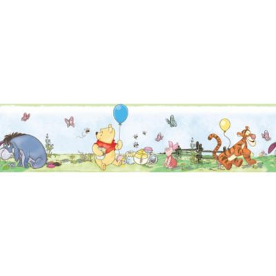 RoomMates Pooh & Friends Peel & Stick Wall Border