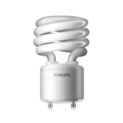 Philips G24 Compact Fluorescent Light Bulb 18 Watts