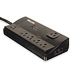Philips® 6-Outlet Home Office Surge Protector