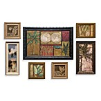 Seven-Piece Tropical Wall Art Set