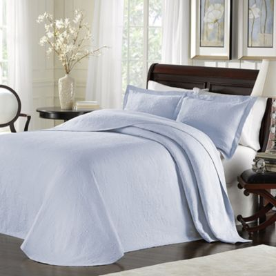 Lamont Home™ Majestic Queen Bedspread in Blue