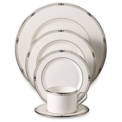 Lenox® Westerly Platinum 5-Piece Place Setting