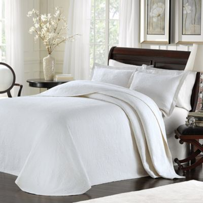 Lamont Home™ Majestic Twin Bedspread in White