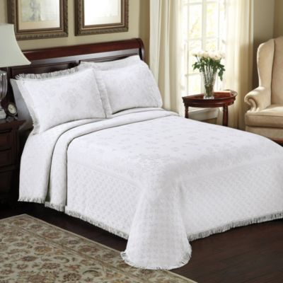 Lamont Home™ Savannah White Bedspread