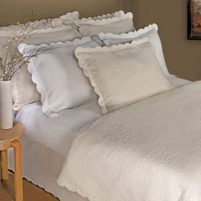 Lamont Home™ Majestic Coverlet in Ecru