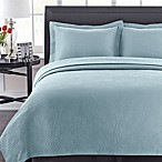 Simone Coverlet Set in Blue
