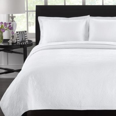 Lamont Home™ Simone White Coverlet
