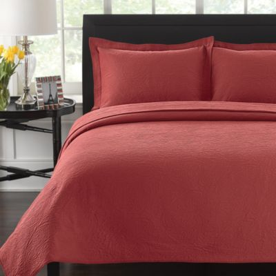 Lamont Home™ Simone Standard Pillow Sham in Red