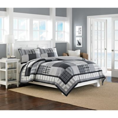 Nautica® Gunston Reversible King Quilt
