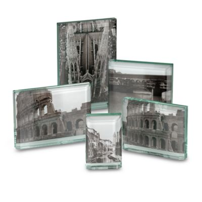 Bewitched Double-Sided Green-Tinted Glass 2-Inch x 3-Inch Frame