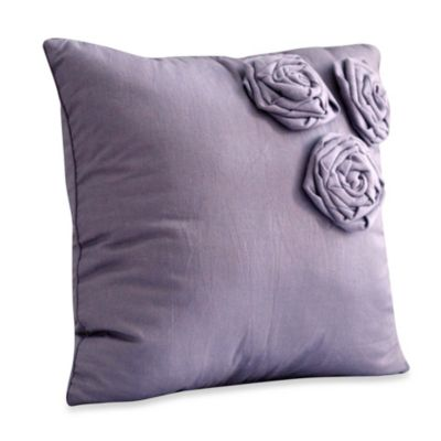 Nostalgia Home™ Neveah Square Throw Pillow in Purple