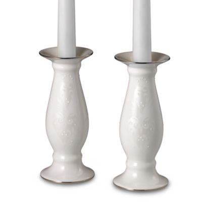 Lenox® Opal Innocence™ Candlestick Pair