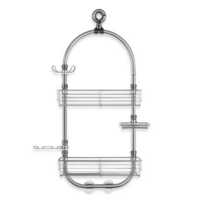 Forma Shower Caddy Station-Brushed Stainless Steel