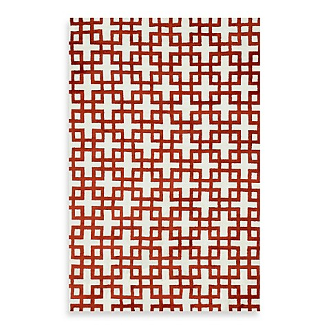 Loloi Rugs Charlotte 9-Foot 3-Inch x 13-Foot Rug in Ivory/Rust