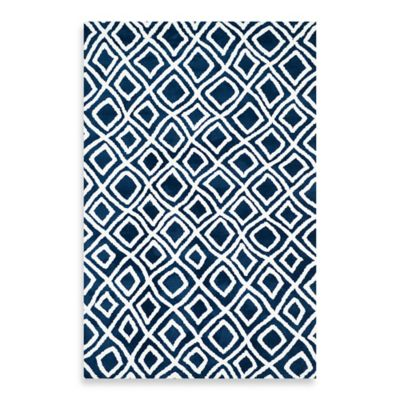 Loloi Rugs Charlotte 7-Foot 6-Inch x 9-Foot 6-Inch Rug in Navy