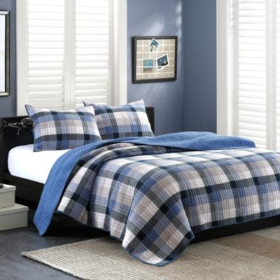 Blue Quilt Bedding Twin