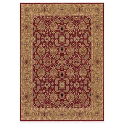 Couristan® Royal Kashimar All Over Vase 6-Foot 6-Inch x 6-Foot 6-Inch Octagon Rug in Persian Red