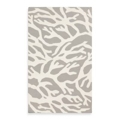 Astatula Coral 8-Foot x 11-Foot Rug in Light Gray with White