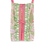 My Baby Sam Pixie Baby Diaper Stacker in Pink/Green