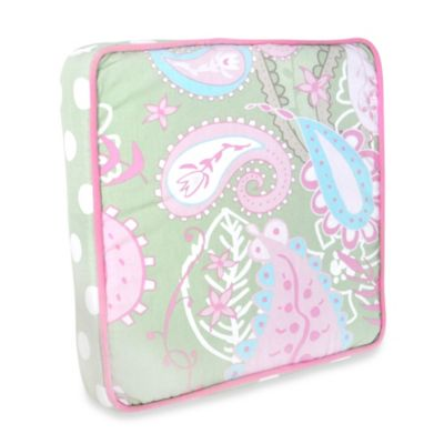 My Baby Sam Pixie Baby 3-Piece Crib Bedding Collection in Pink/Green > My Baby Sam Pixie Baby Throw Pillow in Pink