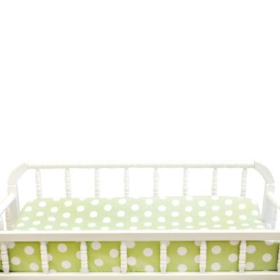 My Baby Same Pixie Baby Changing Pad Cover in Pink/Green