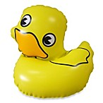 Kel-Gar Inflatable Ducky Faucet Cover & Bubble Bath Dispenser