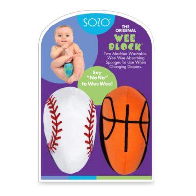 Sozo® Sports Co-Pack Weeblock Sponge
