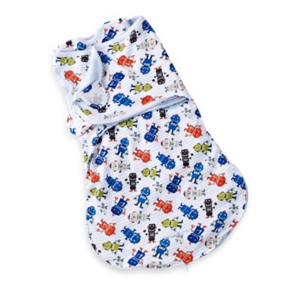 Summer Infant® SwaddleMe® Small WrapSack - Robot Dance