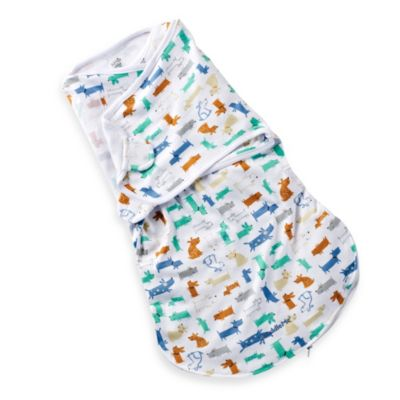 Summer Infant® SwaddleMe® Medium/Large WrapSack - Woof Woof