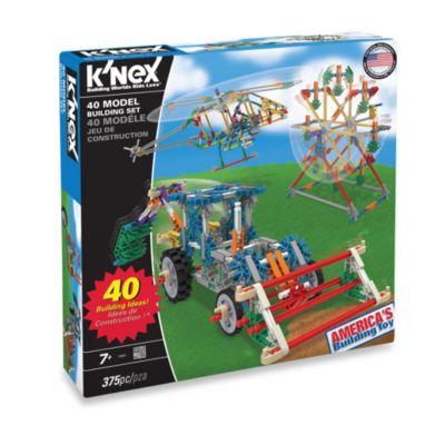 K'NEX® 40-Model Building Set